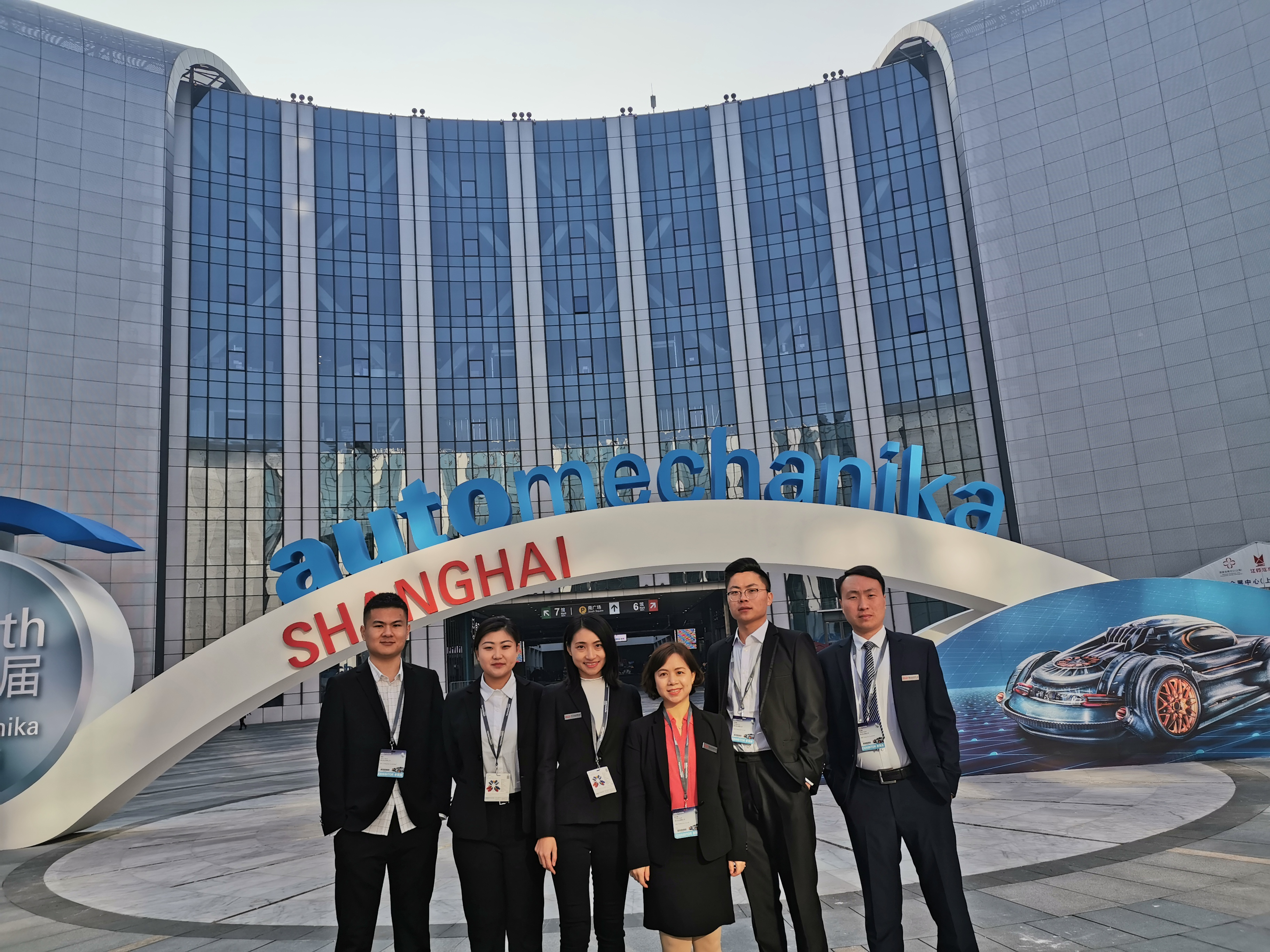 D&E for driving smoothly -- Automechanika Shang