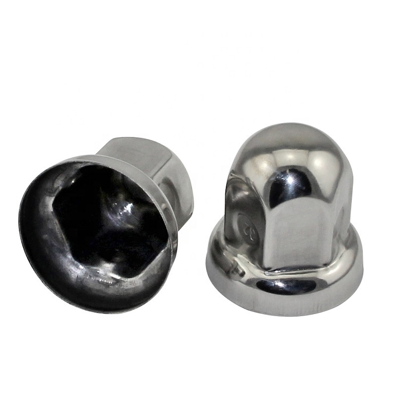 Wheel Lug Nut Cover Caps 32mm 33mm Stainless Steel Nut Cover